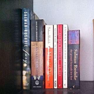 6 Of Salman Rushdie's Titles