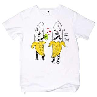 潮牌 0416*1024 香蕉泥的芭辣!t-shirt 全新售出