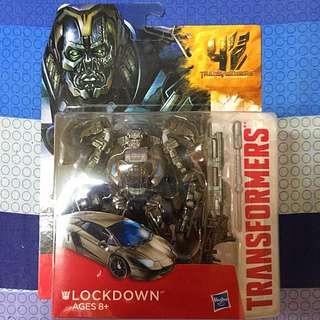 全新 孩之寶 美版 Lockdown 地獄獵人 禁閉 藍寶堅尼 變形金剛 4 變形金剛四 絕跡重生