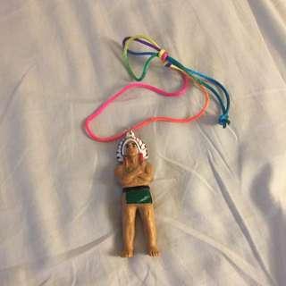 一個印地安人 項鍊