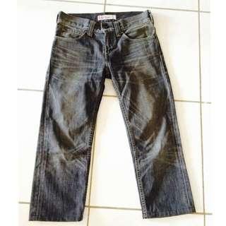 Levi's 511 牛仔 7分褲