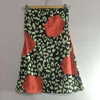 日本rienda平口豹紋洋裝