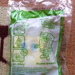 麥當勞超~~Q海綿寶寶玩具