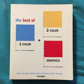 The Best of 1- & 2 Colors Graphics Book