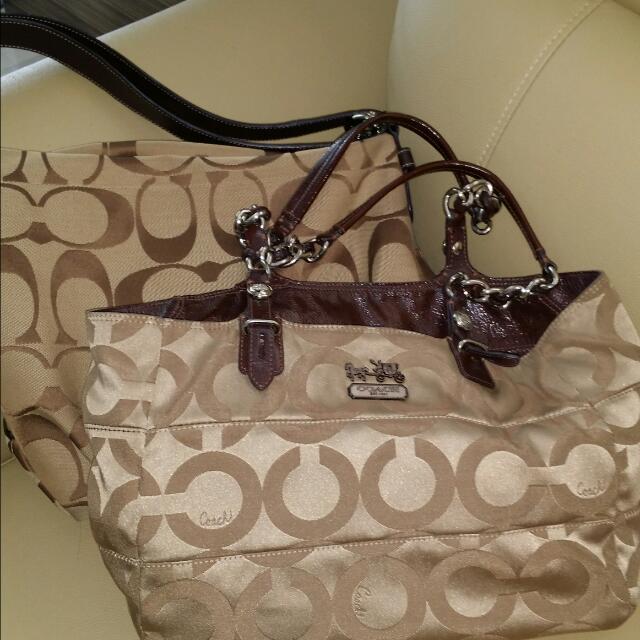 a0dcf35dbd6 Reserved* 2 For The Price Of 1. Pre Loved Authentic COACH bag For ...