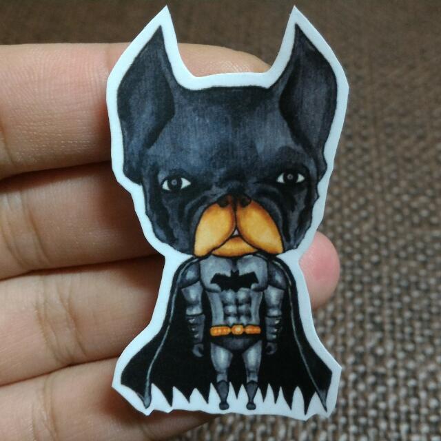 蝙蝠法鬥貼紙
