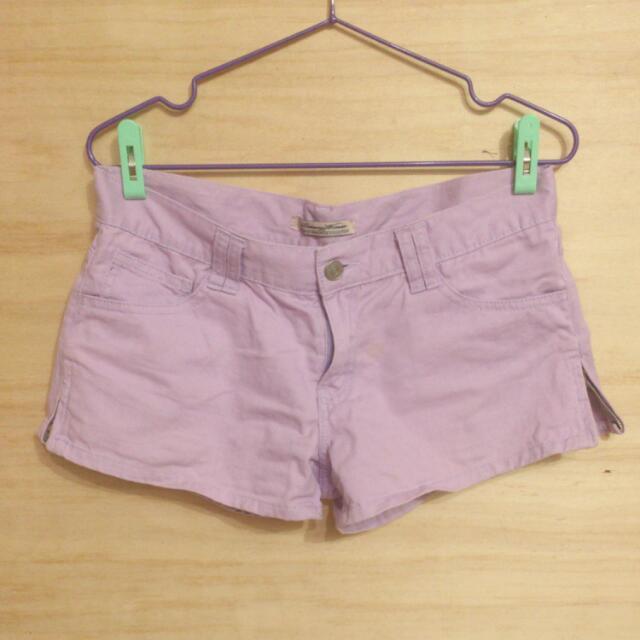 🍦馬卡龍糖果紫色短褲🍦