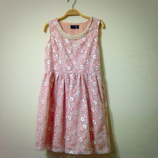 🎊氣質可愛 珠珠 洋裝🎊