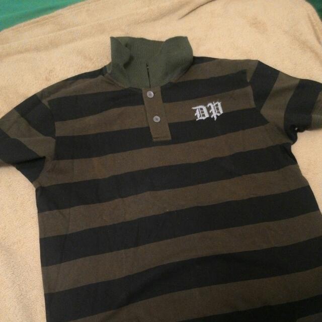 Collar Stripe Shirt Dapper Club