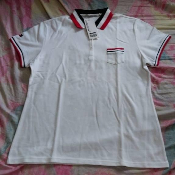 collezione鑰匙-白色POLO衫8號(XL)