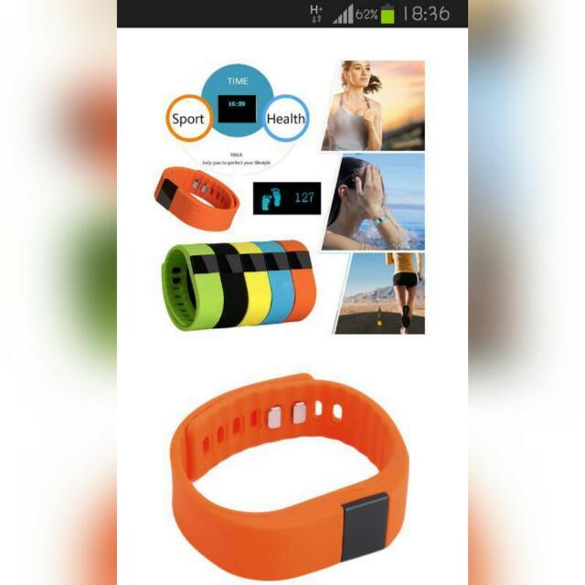 GAMA歐力馬ORIMA計步錶 智慧手環 小米手環運動計步 智慧表 健康表 運動手環 智能表 安卓ios系統(黃、綠色)