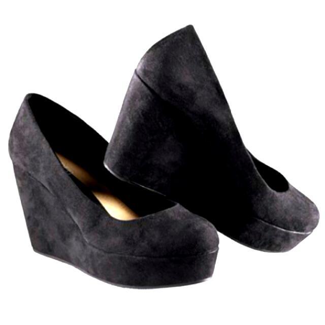 H&M Authentic Black Wedges