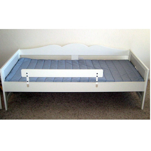 Ikea Hensvik Childrens Bed With Guard Rail Home Furniture On Carousell