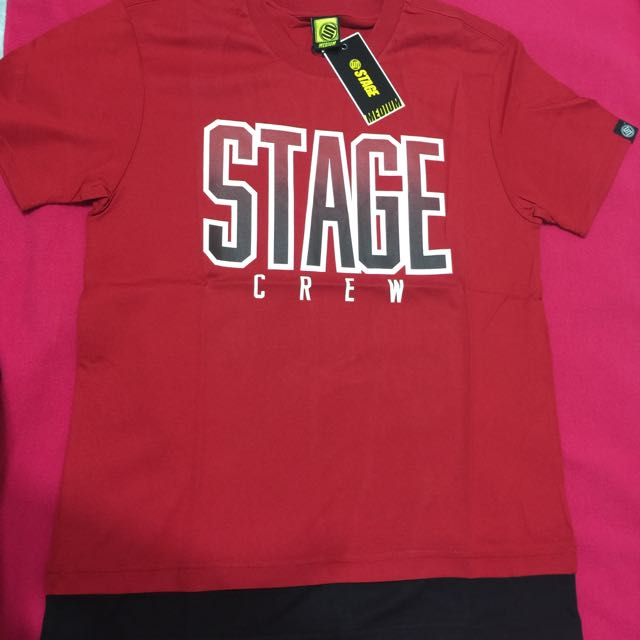 Stage 全新真品 短T M