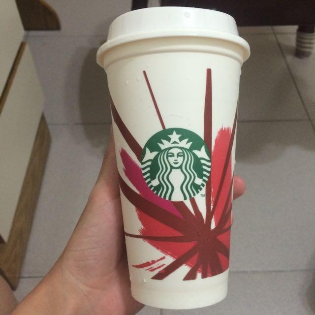 (已預訂) [Starbucks]PP材質水杯