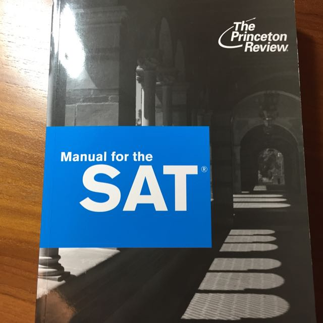 The Princeton Review Manual For The SAT Version 5.0