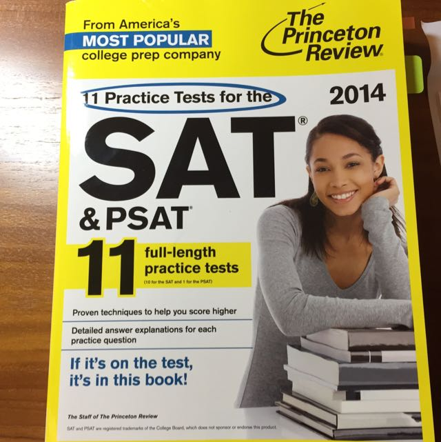 The Princeton Review SAT 11 Full-length Practice Tests 2014 Edition