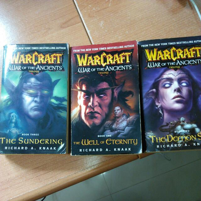 Warcraft War Of The Ancients Trilogy By Richard A  Knaak