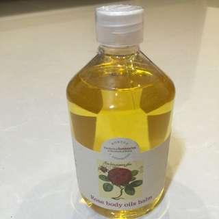 菠丹妮(Botanicus) 玫瑰香體凝脂 Rose Body Oil Balm 500ml