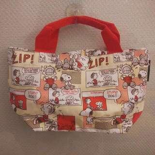 Snoopy提袋、Miffy米菲兔便當束口袋