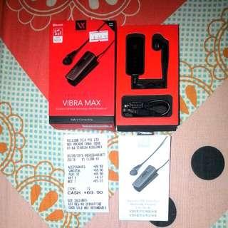 Bluetooth Ear Piece  VENTURER V301 - VIBRA MAX