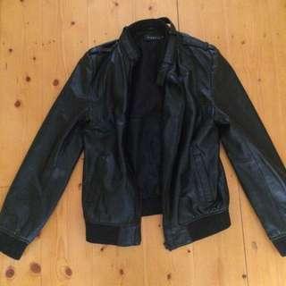 Nique Leather Jacket Large