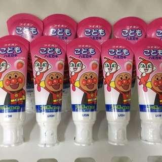 日本連線帶回✨獅王麵包超人牙膏任選4條一組 免運