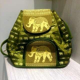 泰國圖紋式後背包