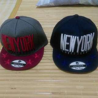 棒球帽(紅灰,藍)