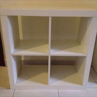 4 Section Shelf Unit