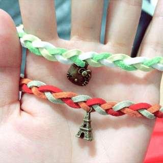 🆕手做-麂皮編織繩