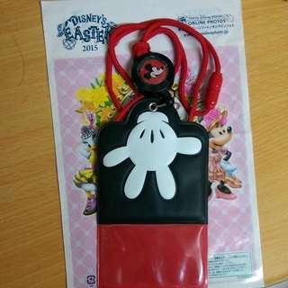 ⬇降價!🗼東京迪士尼園區限定 米奇伸縮證件套