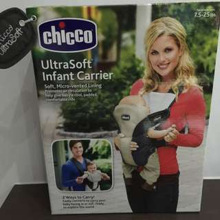 Chicco UltraSoft Infant Carrier-used