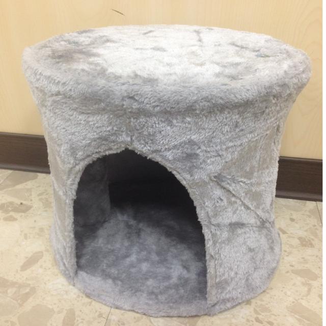 灰色組裝式貓屋2 NG品-38