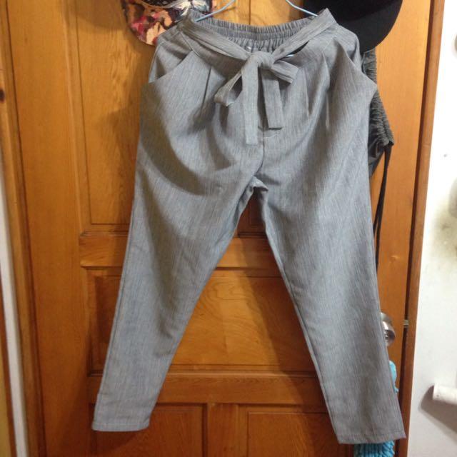 新進貨*綁帶甜美老爺褲
