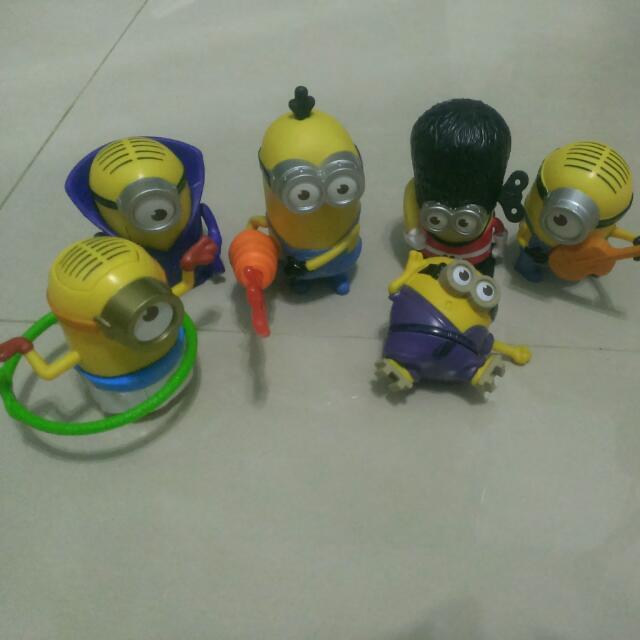 麥當勞玩具 小小兵