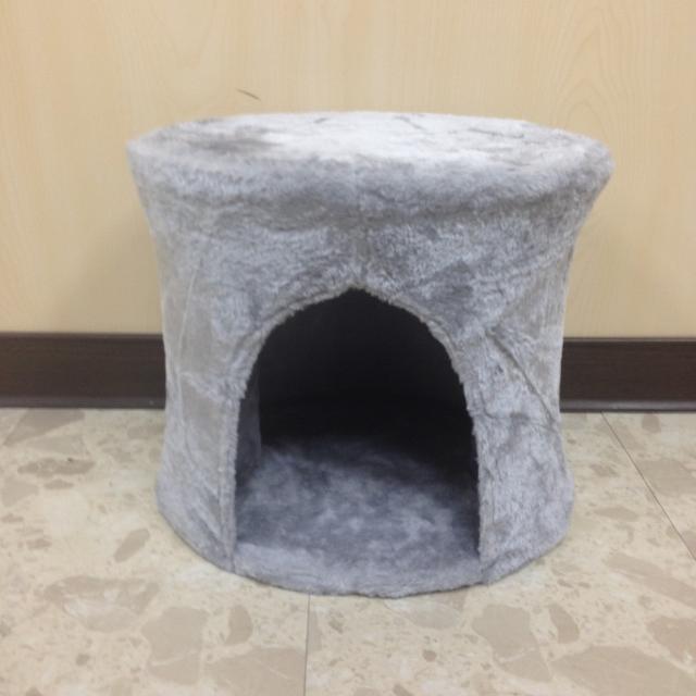 灰色組裝式貓屋 NG品-37
