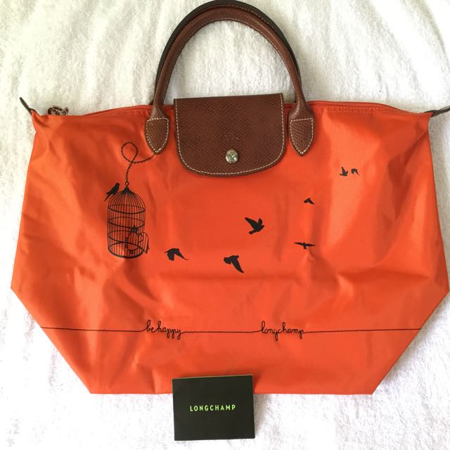 Authentic LONGCHAMP BIRD CAGE Design bag