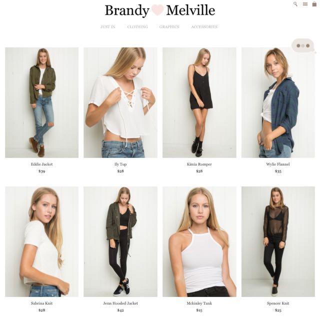 Brandy Melville USA Spree