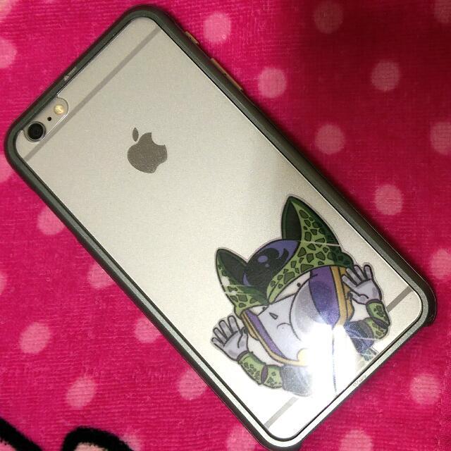 iPhone6 plus 磁鐵 金屬框 鐵灰 質感