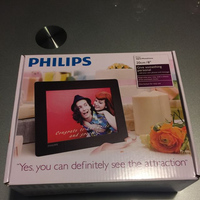 Lucky Draw Price Philips Digital Photo Frame 20cm8 Photography