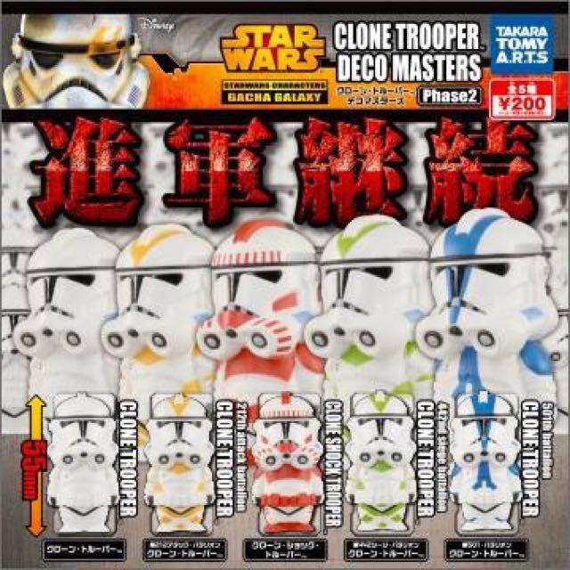 [誠收]T. ARTS 星際大戰 白兵 風暴兵 R2-D2 扭蛋