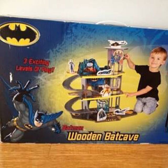 Wooden Batcave As New