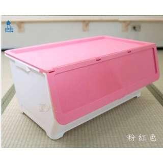 (特大-58L) 前開式直取整理箱 KEYWAY 收納櫃整理箱 置物櫃 抽屜整理
