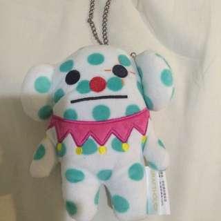宇宙人 日本 Craftholic 玩偶零錢包 吊飾