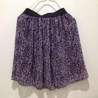 韓國碎花短裙