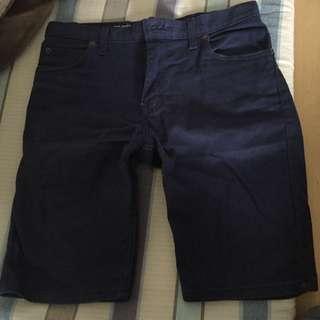 Dickies 藍色短褲