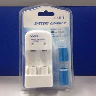 CR2 Rechargeable Batt Pack + USB cable