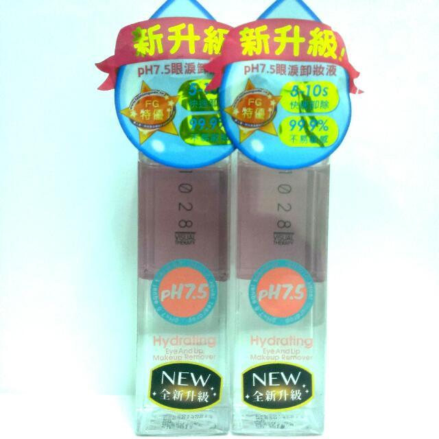 【全新】1028 Ph7.5眼唇卸妝液 75ml