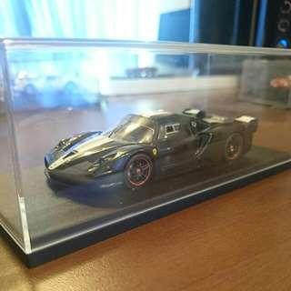 1/43 Scale Black Ferrari ENZO FXX